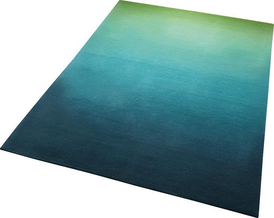 Teppich, ESPRIT, »Sunrise«, handgetuftet in blau
