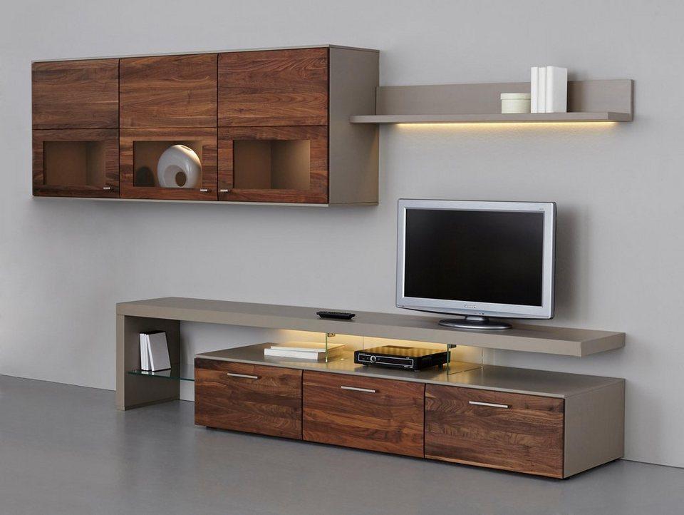 gwinner wohnwand awesome gwinner wohnwand terra te. Black Bedroom Furniture Sets. Home Design Ideas