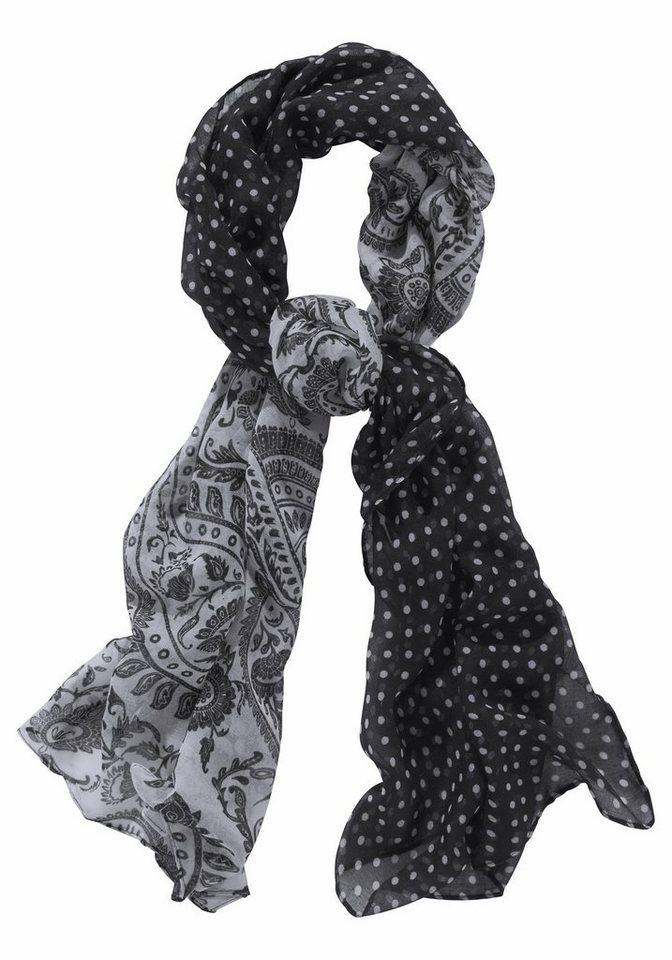J. Jayz Modeschal mit Punkten in schwarz-weiß