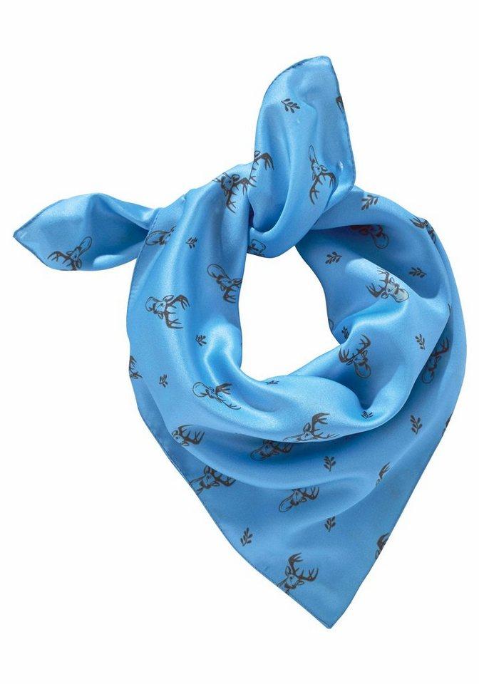 J. Jayz Nickituch mit Hirschmotiv in blau