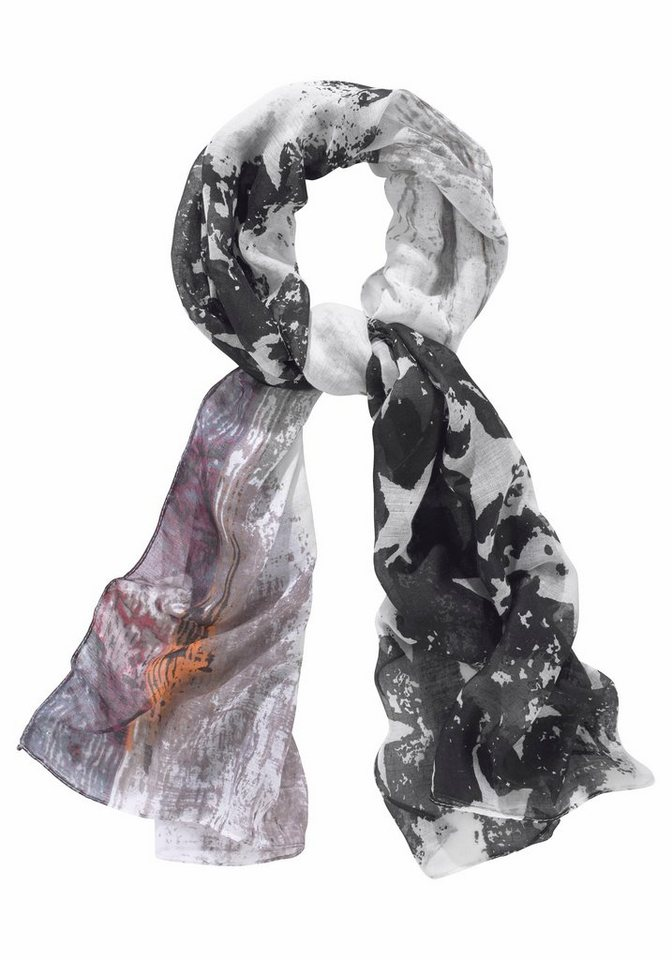 J. Jayz Modeschal mit Sternen in schwarz-weiß