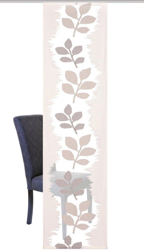 schiebegardine home wohnideen paula mit klettband 1. Black Bedroom Furniture Sets. Home Design Ideas