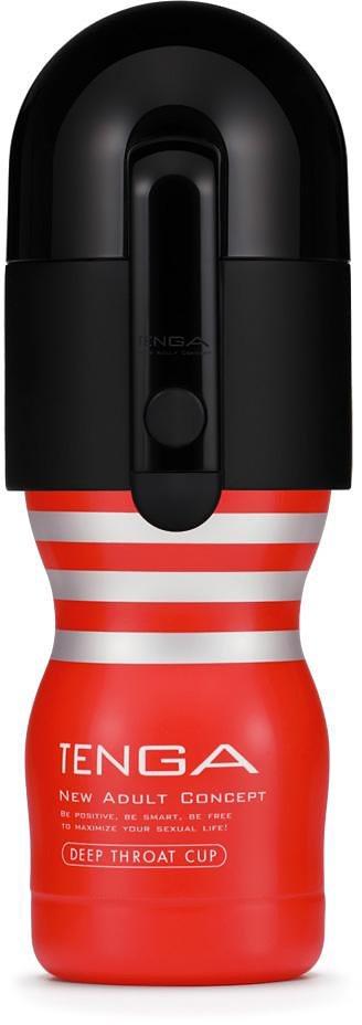 Tenga Masturbator mit Vakuum-Aufsatz »Vacuum Controller« in rot/schwarz