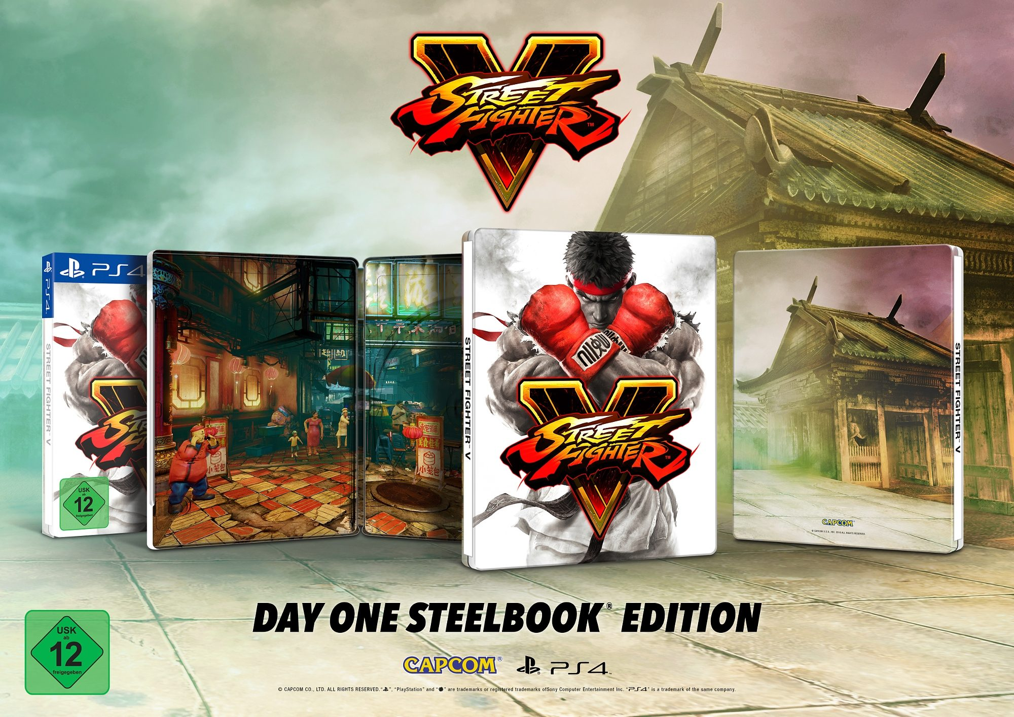 Capcom Street Fighter V Limited Edition Steelbook »(PS4)«