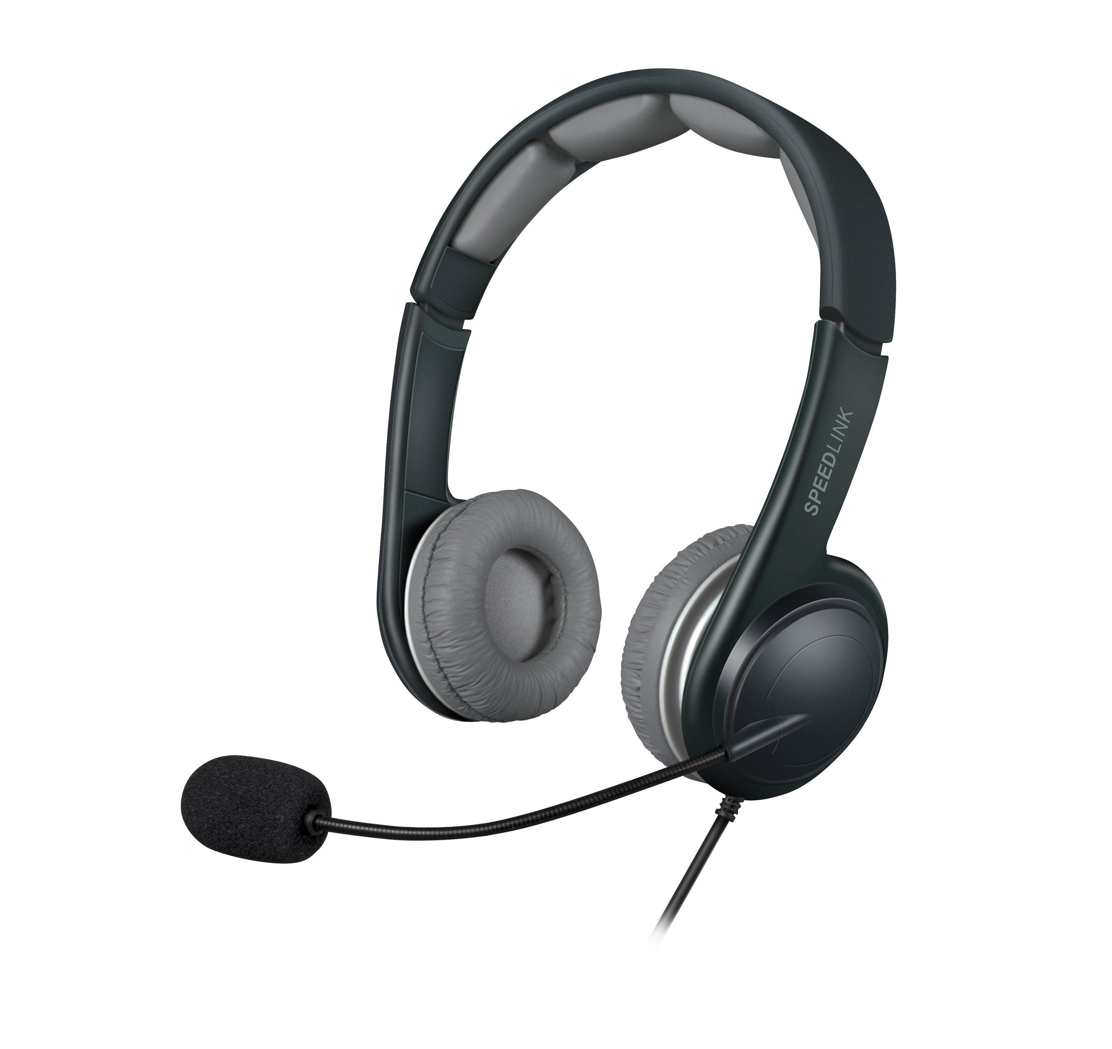 SPEEDLINK Stereo Headset »SONID Stereo Headset - USB schwarz-grau«