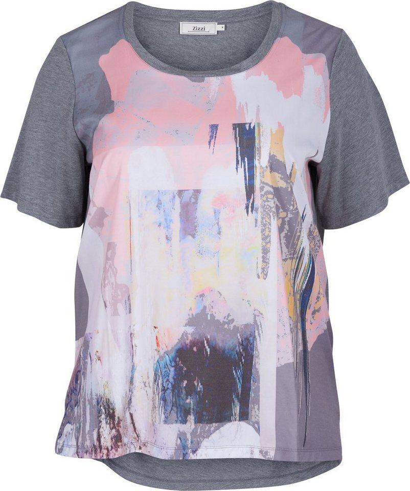 Zizzi T-Shirt in Steeple Gray