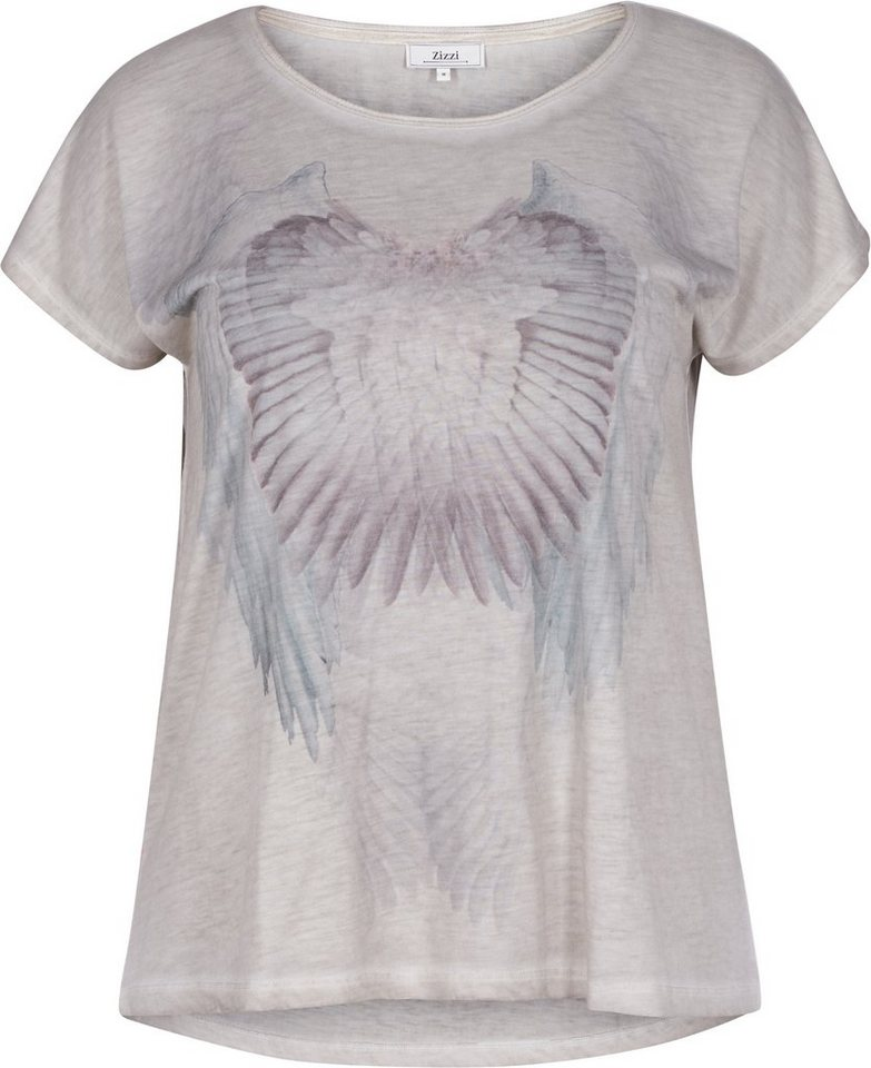 Zizzi T-Shirt in Dove
