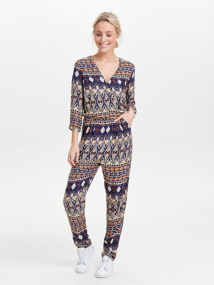 Only 3/4 Jumpsuit in Cloud Dancer