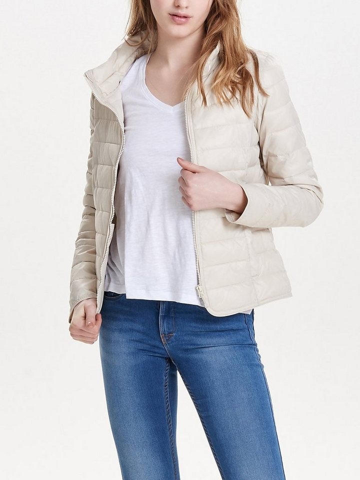 Only Nylon Steppjacke in Pumice Stone