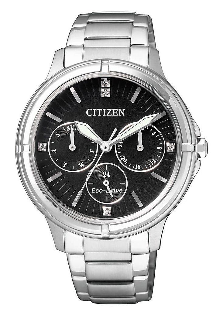 Citizen Multifunktionsuhr mit Swarovski-Kristallen, »FD2030-51E«