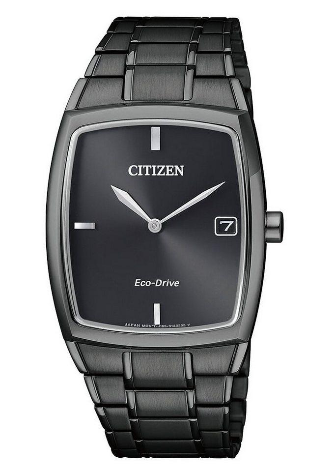Citizen Armbanduhr, »AU1077-83H« in schwarz