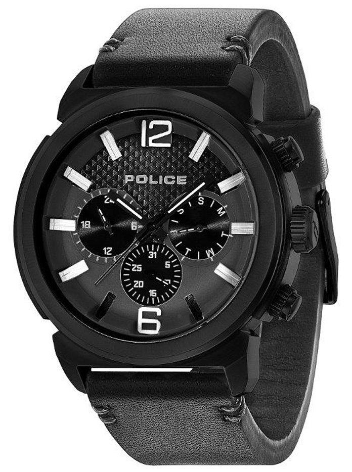 Police Multifunktionsuhr »CONCEPT, PL.14377JSB/02A« in schwarz
