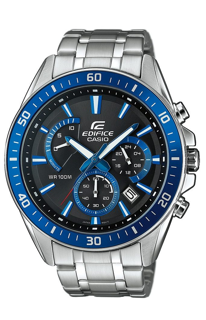 Casio Edifice Chronograph »EFR-552D-1A2VUEF«, NEO-Display