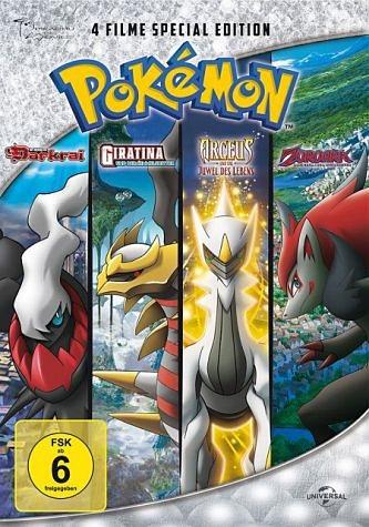 DVD »Pokémon: Der Aufstieg von Darkrai / Giratina...«