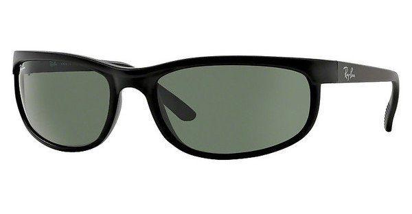 RAY BAN RAY-BAN Herren Sonnenbrille »PREDATOR 2 RB2027«, schwarz, W1847 - schwarz/grün