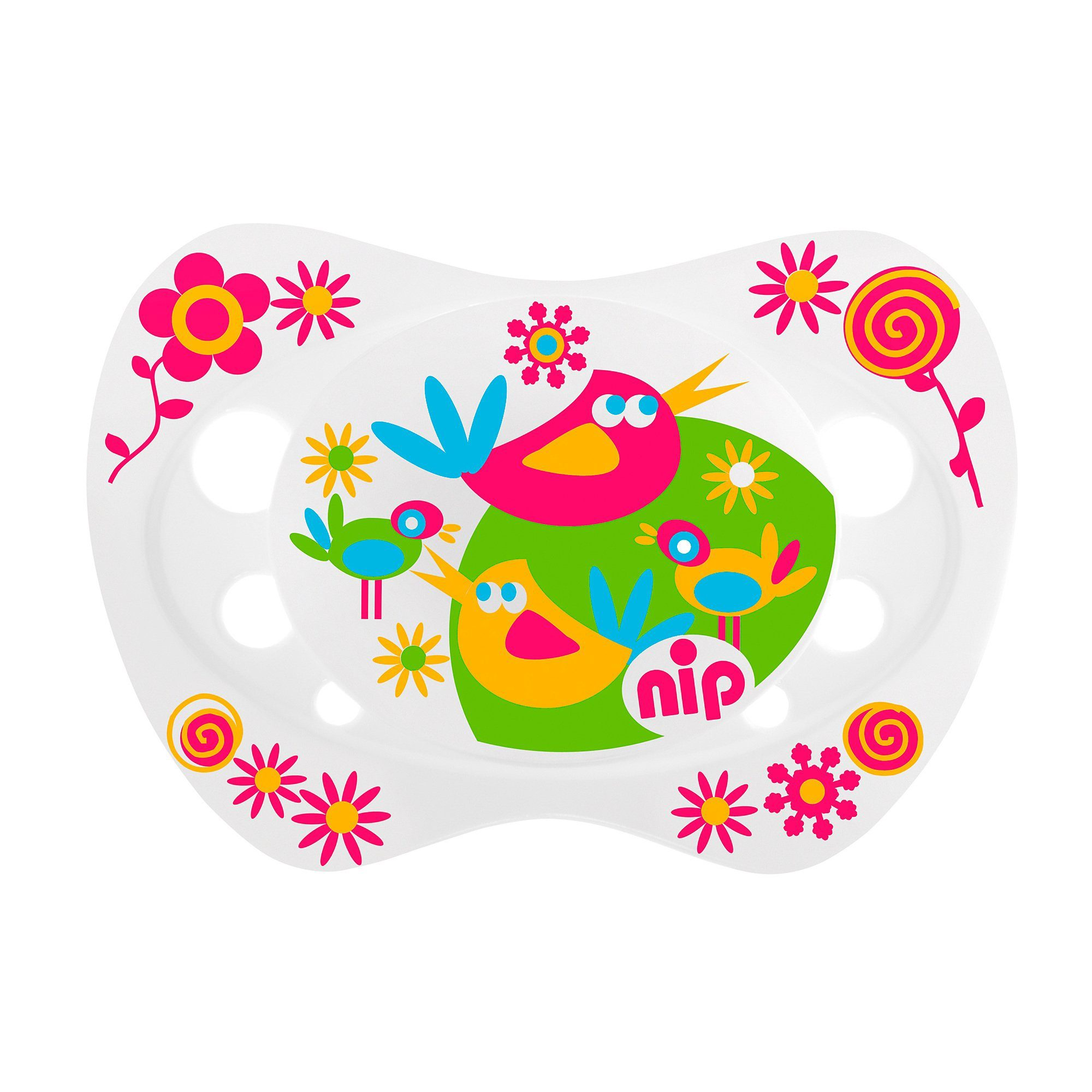 "NIP Schnuller ""Life"" Vogel & Schmetterling"