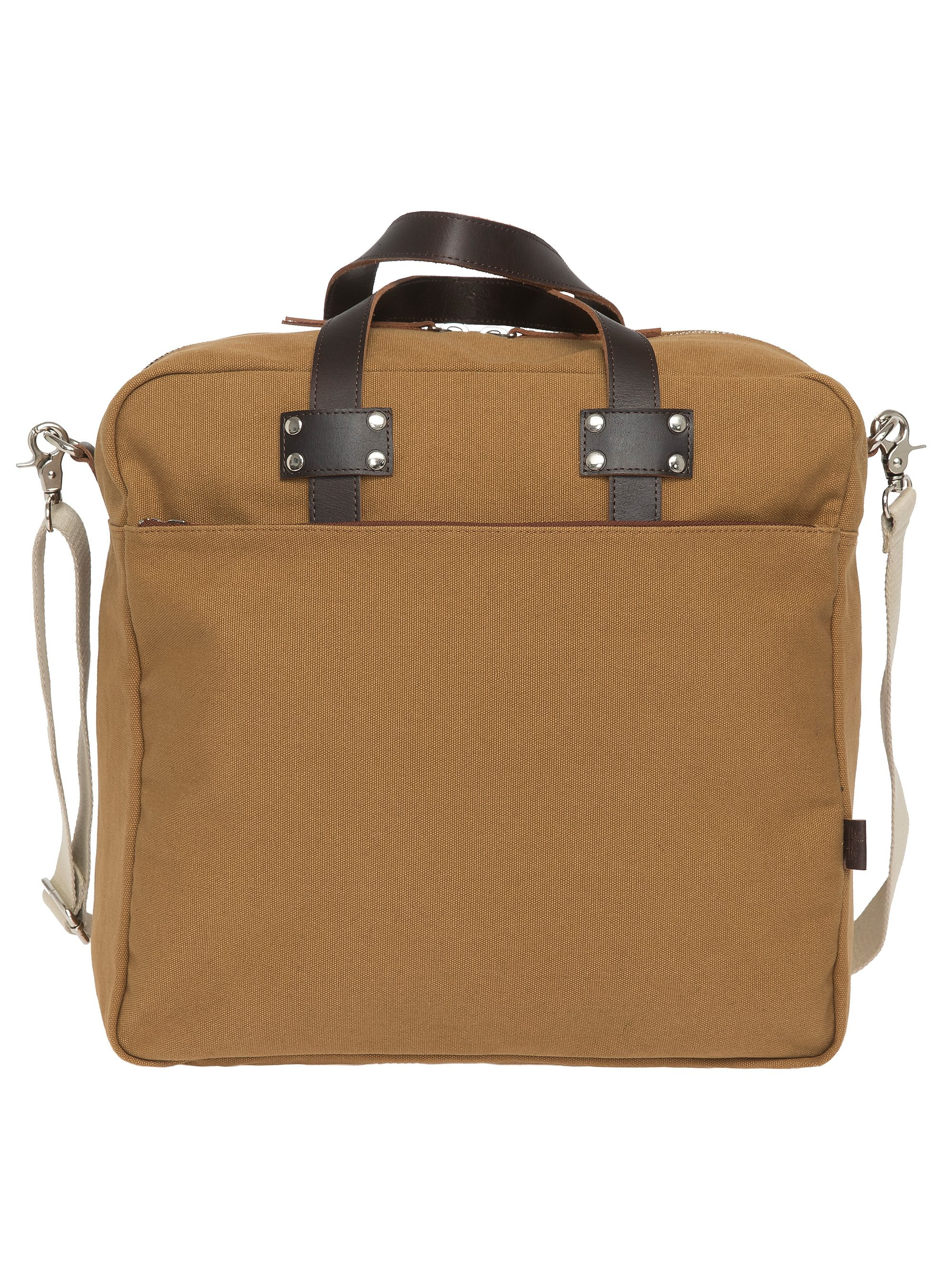Enter Aktentasche, »All Day Zip Tote, Khaki/Dark Brown«