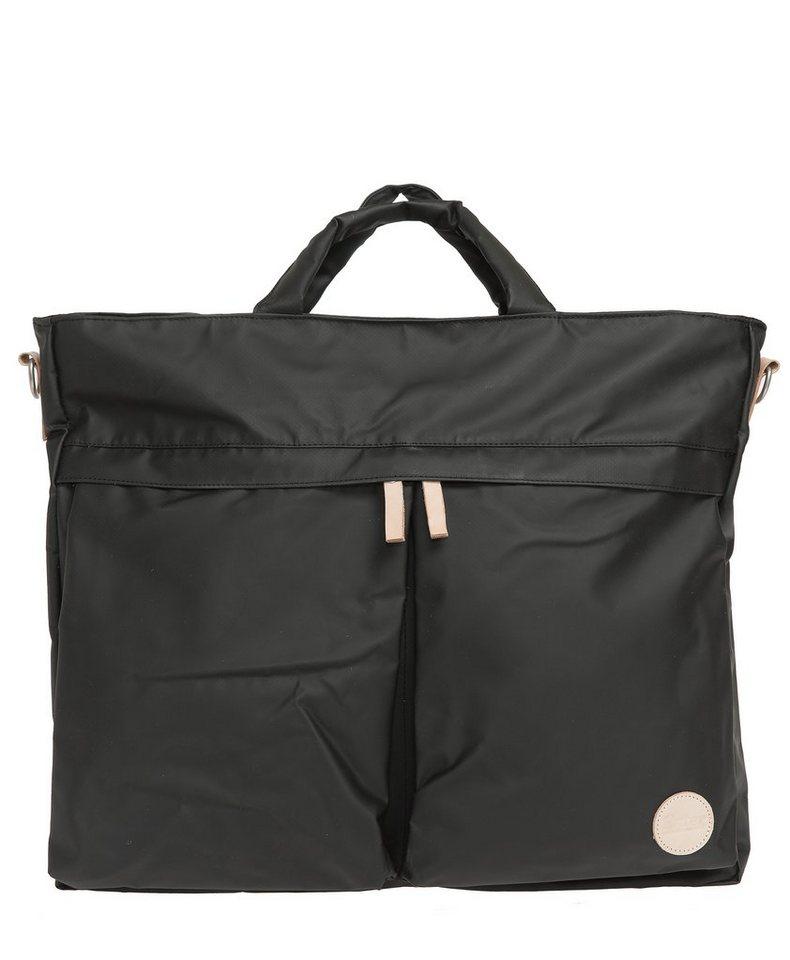 Enter Wasserabweisende Umhängetasche, »Helmet Tote Bag, Black/Natural« in schwarz