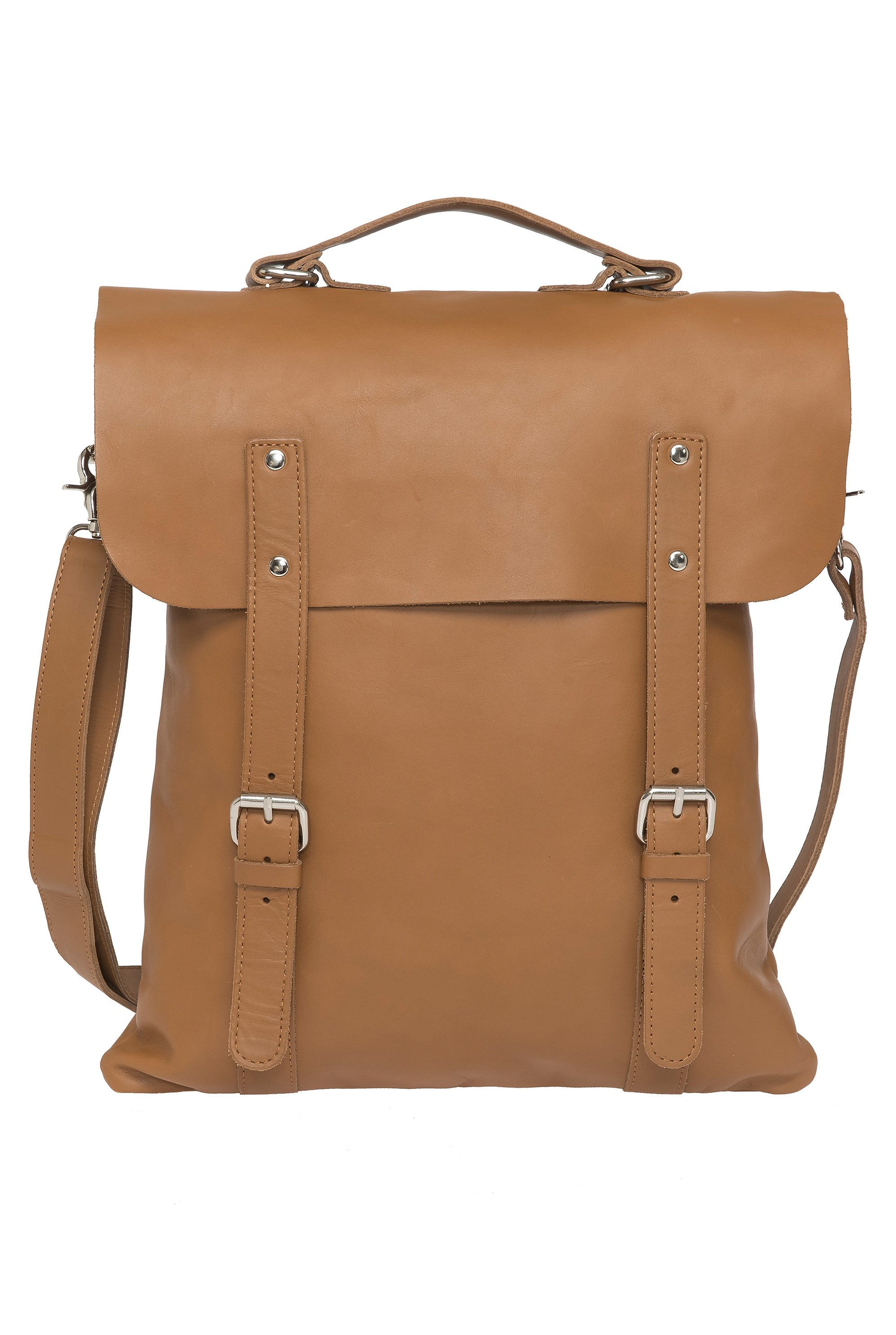 Enter Rucksack, »Messenger Tote, Tan Leather«