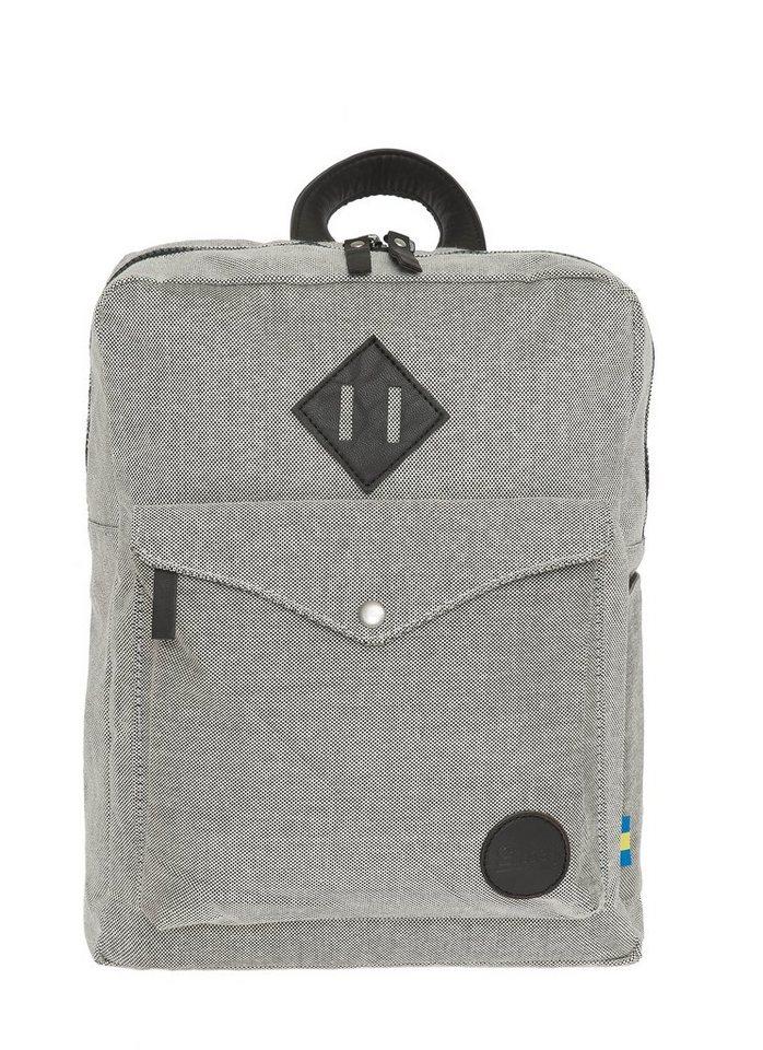 Enter Allzweck-Rucksack, »Sports Backpack Mini, Melange Grey« in melange-schwarz
