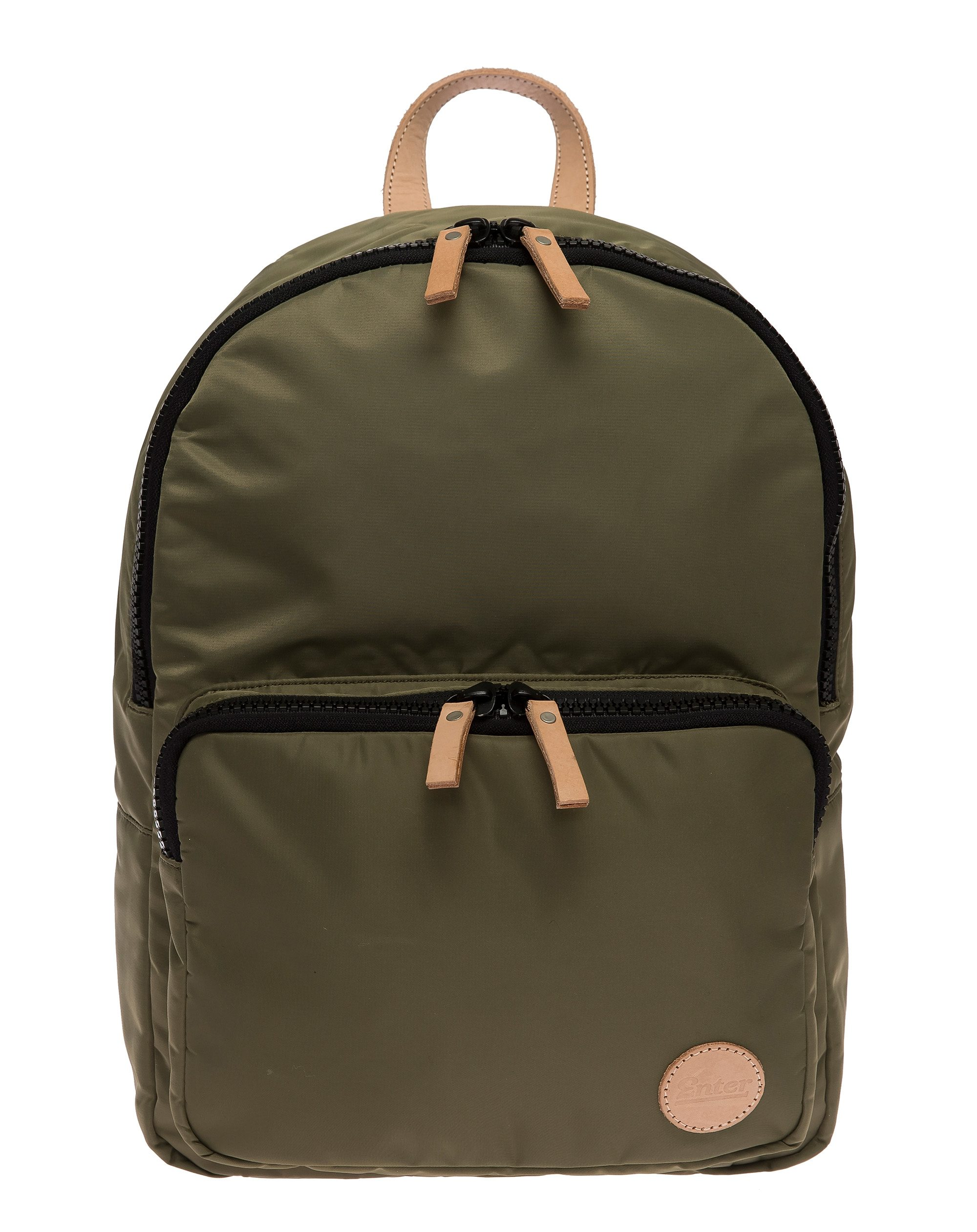 Enter Street-Style-Rucksack, »Gym Backpack, Army Green/Natural«