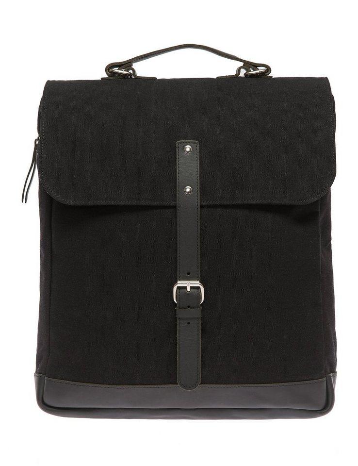 Enter Messenger Rucksack, »Messenger Backpack, Black« in schwarz