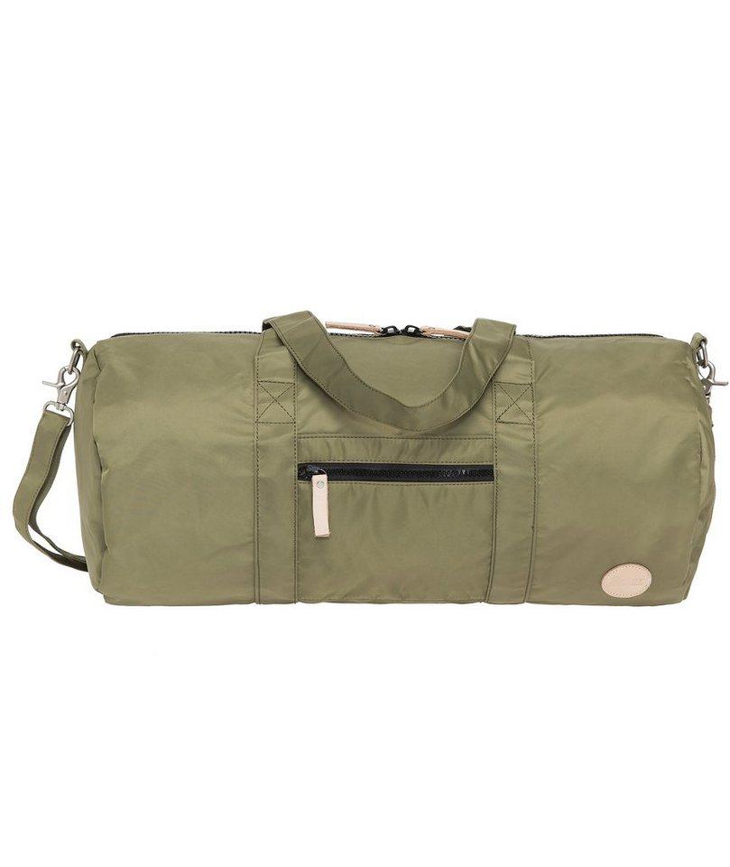 Enter Reisetasche, »Gym Bag, Army Green/Natural« in grün