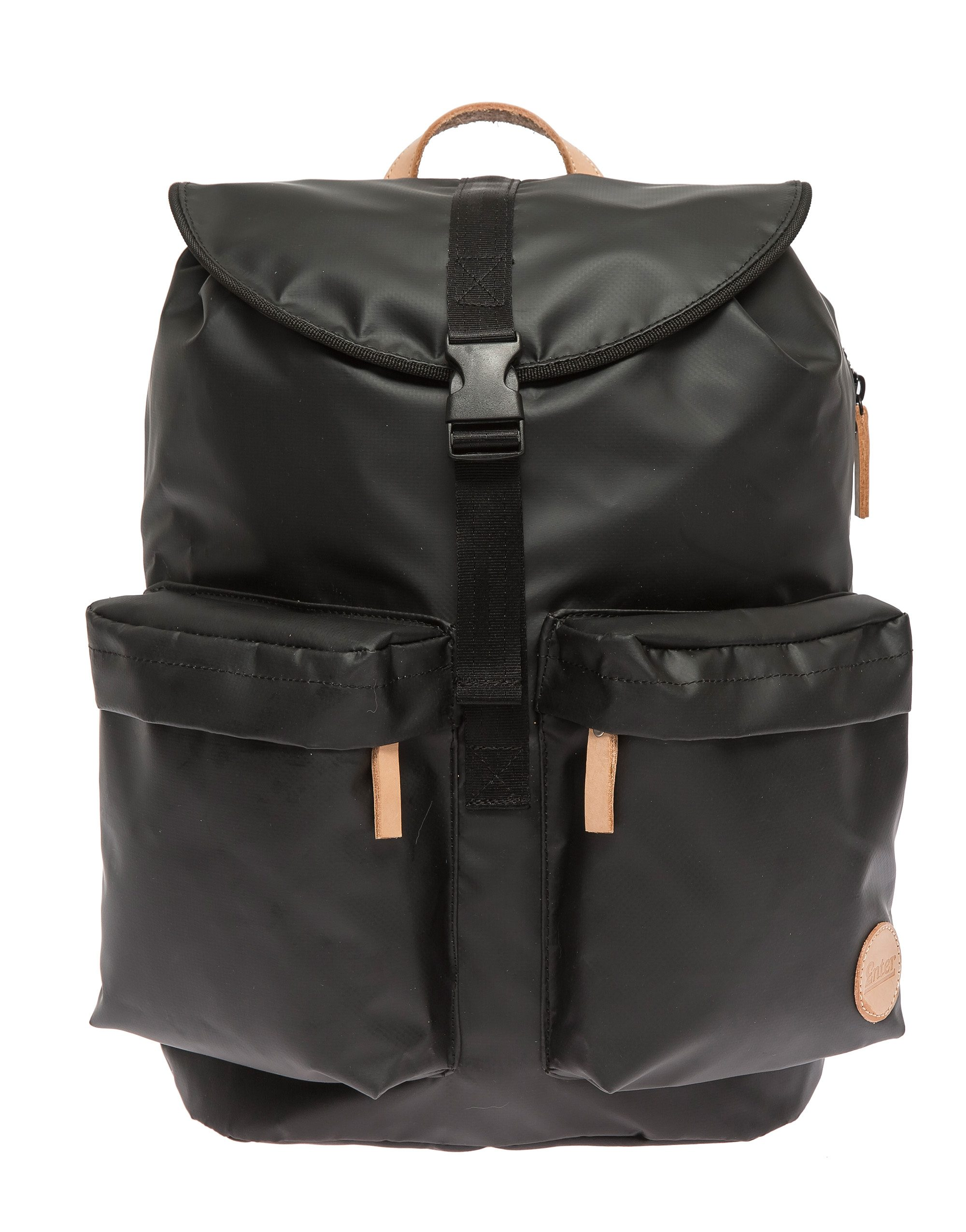 Enter Wasserabweisender Rucksack, »Hiker Backpack, Black/Natural«