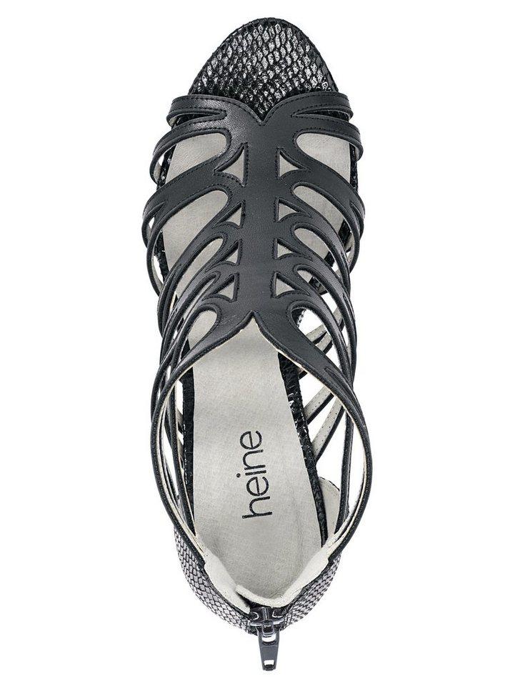 Heine Sandalette in schwarz