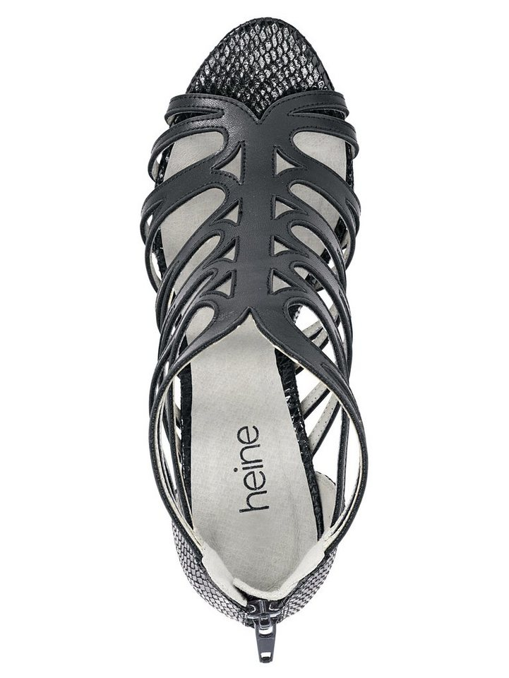 Sandalette in schwarz