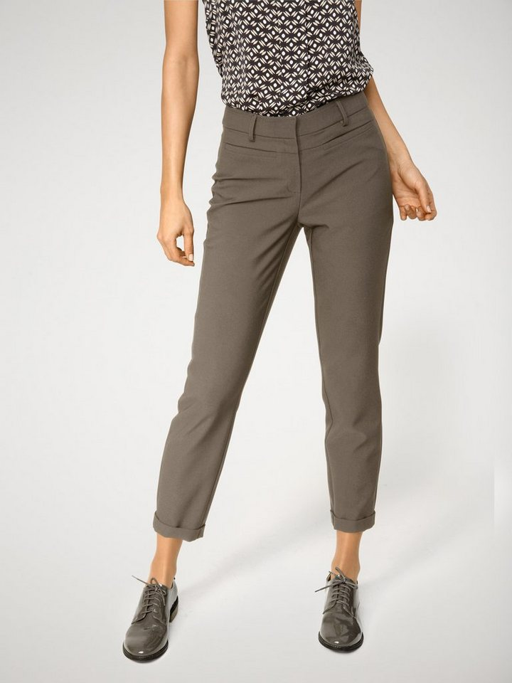 ASHLEY BROOKE by Heine Stifthose Magic Stretch in taupe