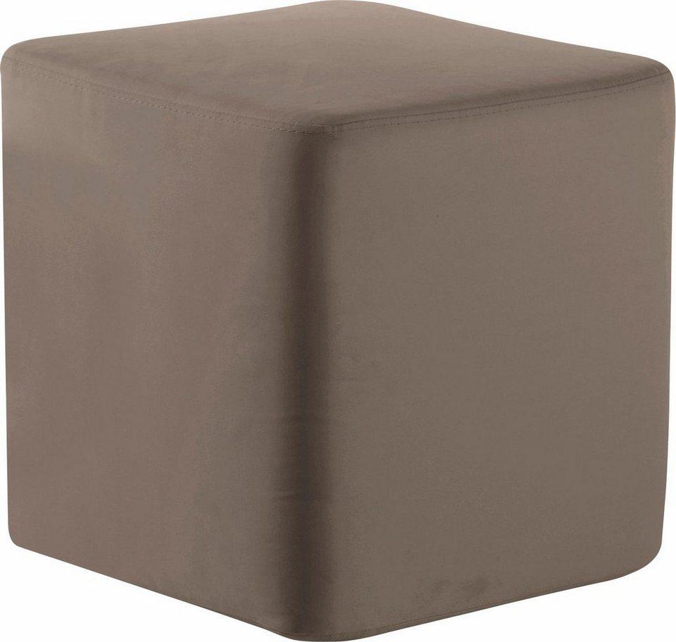 set one by Musterring Sitzwürfel »SO 4650/york«, Sitzhöhe 50 cm in stone
