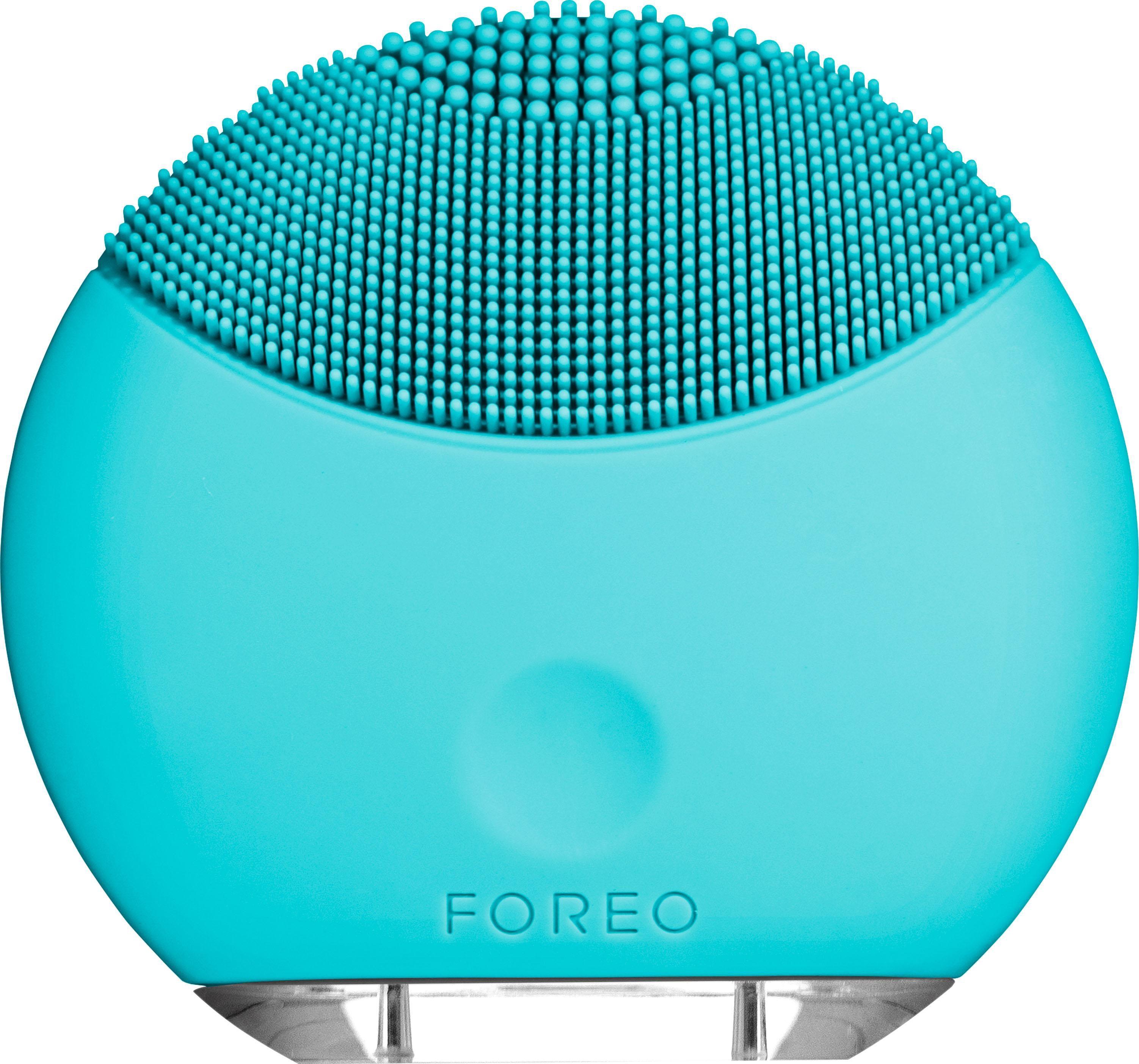 Foreo Gesichtsreinigungsbürste LUNA™ mini Turquoise Blue, kompakt & stylish