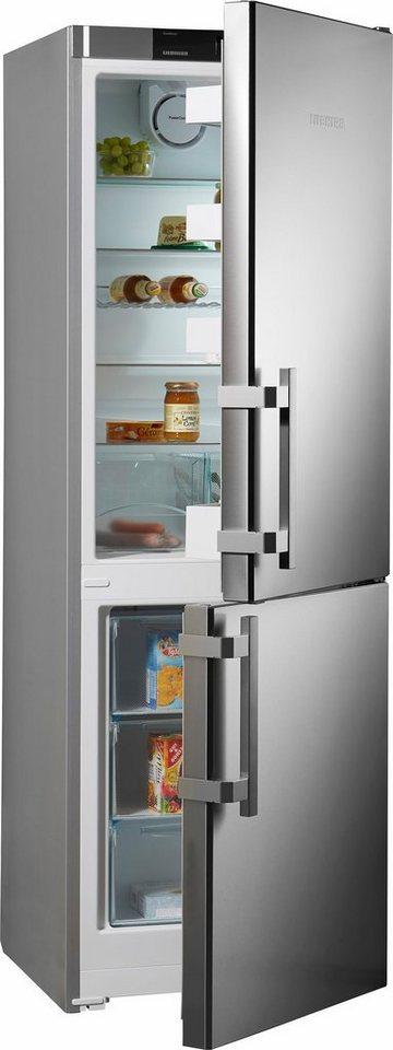 liebherr k hl gefrier kombination cef 3425 20 a 181 7. Black Bedroom Furniture Sets. Home Design Ideas
