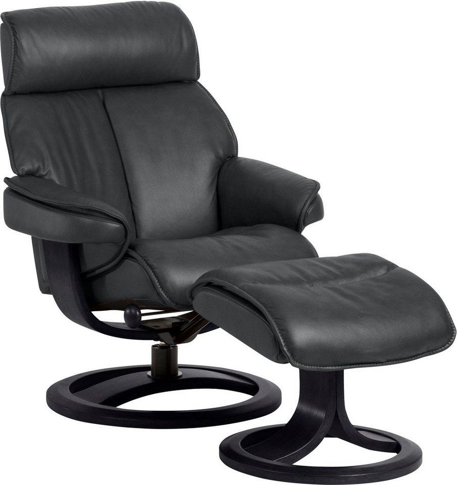places of style set relaxsessel mit hocker nordic 96 mit integrierter stufenloser. Black Bedroom Furniture Sets. Home Design Ideas