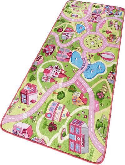 Kinderteppich in rosa & pink online kaufen | OTTO