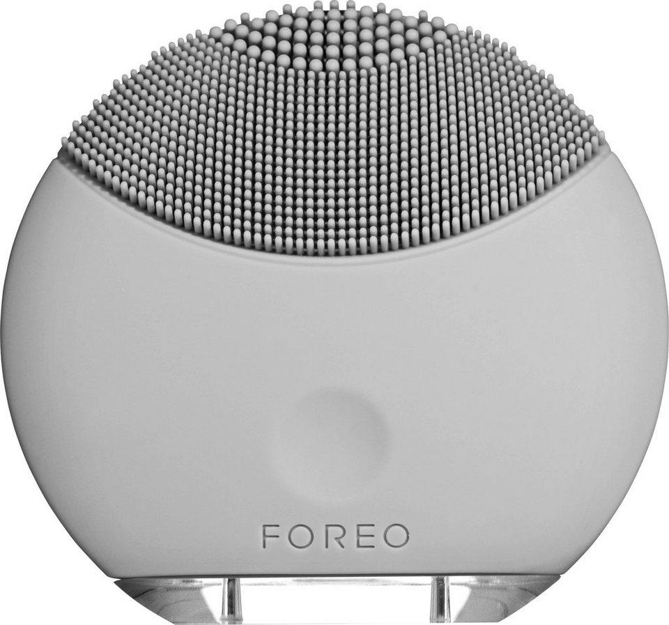 Foreo Gesichtsreinigungsbürste LUNA™ mini Cool Grey, kompakt & stylish in grau