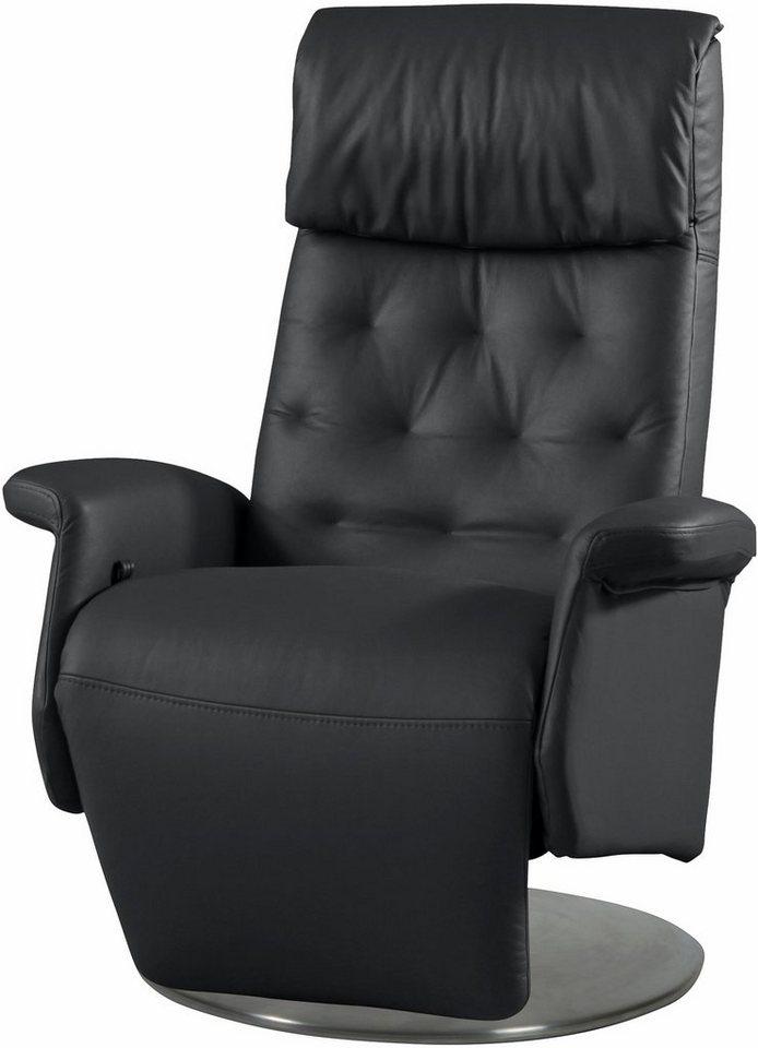 Relaxsessel »Codi 1300« mit integrierter Relaxposition de Luxe in schwarz