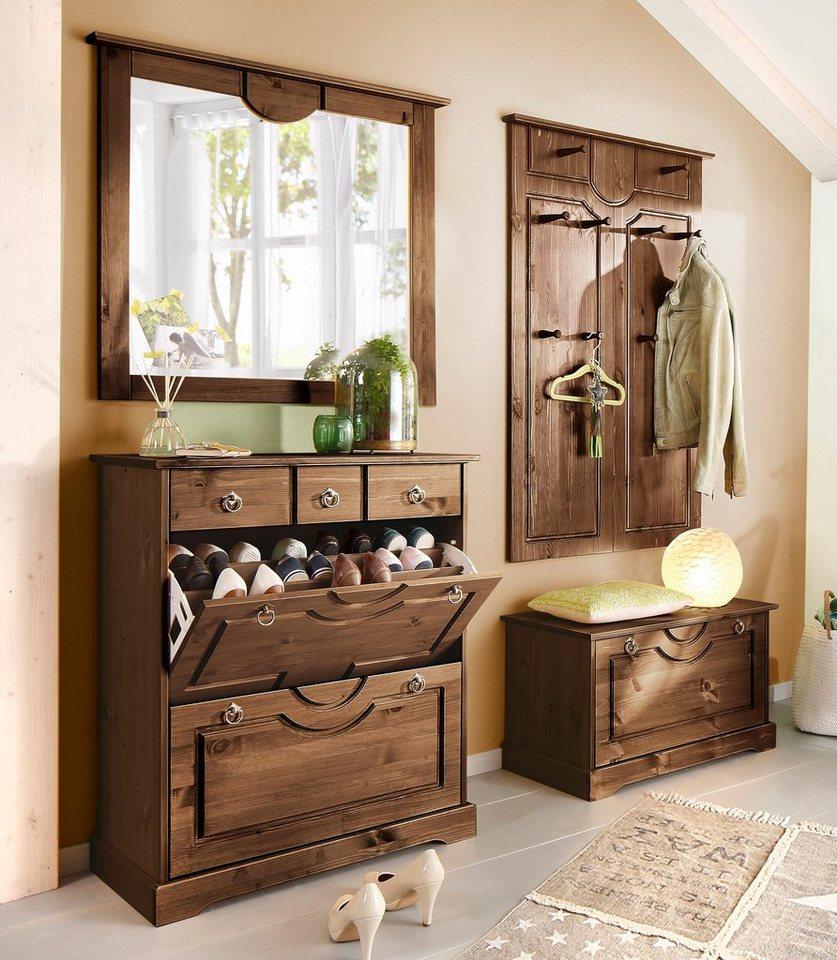 garderobe kolonial preisvergleiche erfahrungsberichte und kauf bei nextag. Black Bedroom Furniture Sets. Home Design Ideas