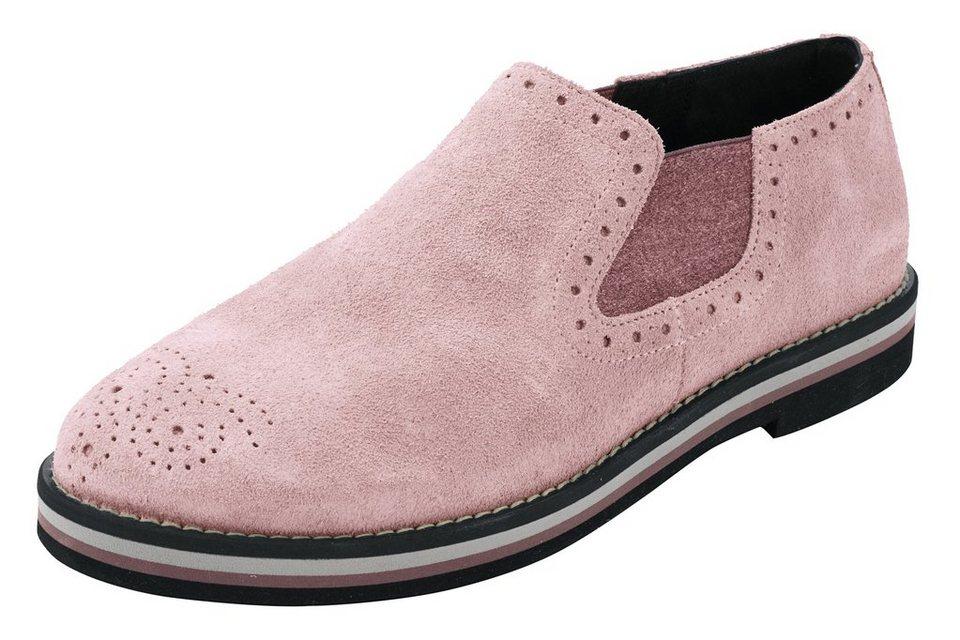 Stiefelette in rosa