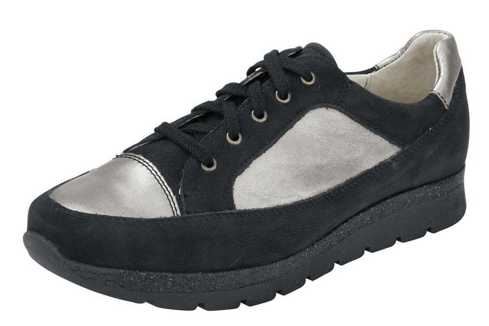 Werner Schuhe Sneaker von WERNER in schwarz/antiksilberfarben