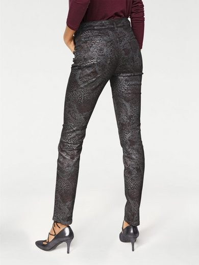 ASHLEY BROOKE by Heine Bodyform-Push-up-Jeans mit Bauch-weg-Funktion