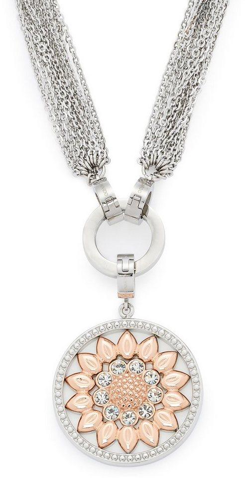 Jewels by Leonardo Schmuckset mit Kristallsteinen (Set, 3 tlg.), »darlin's fiore, 015794« in bicolor