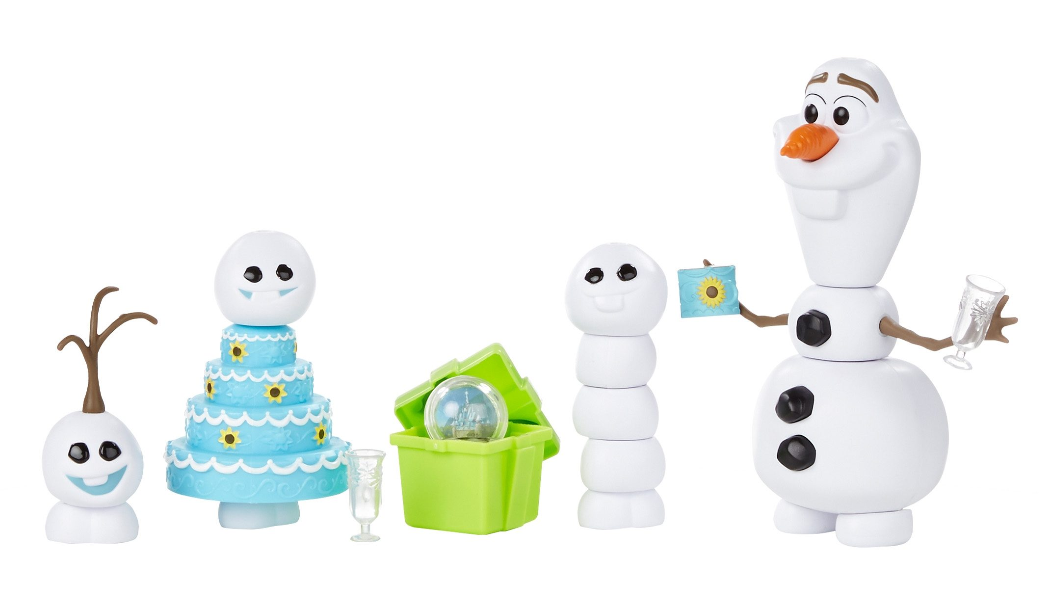 Hasbro Spielset, »Disney Eiskönigin Olaf Party-Fieber«