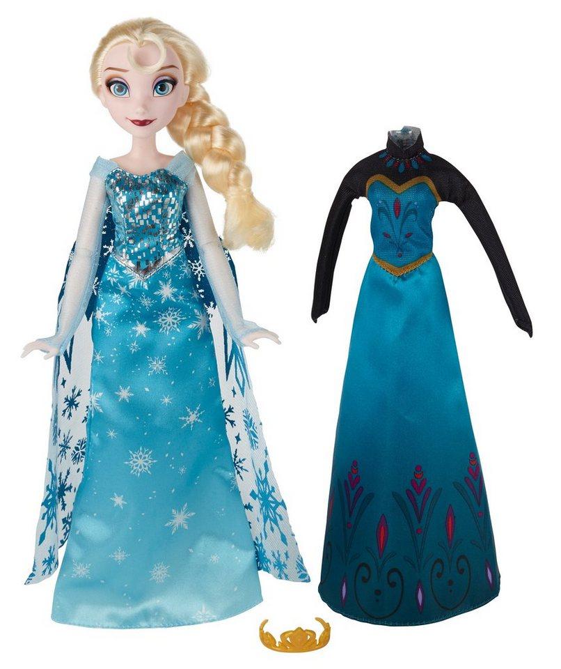 Hasbro Puppe mit Wechseloutfit 28 cm, »Disney Die Eiskönigin - Elsa«