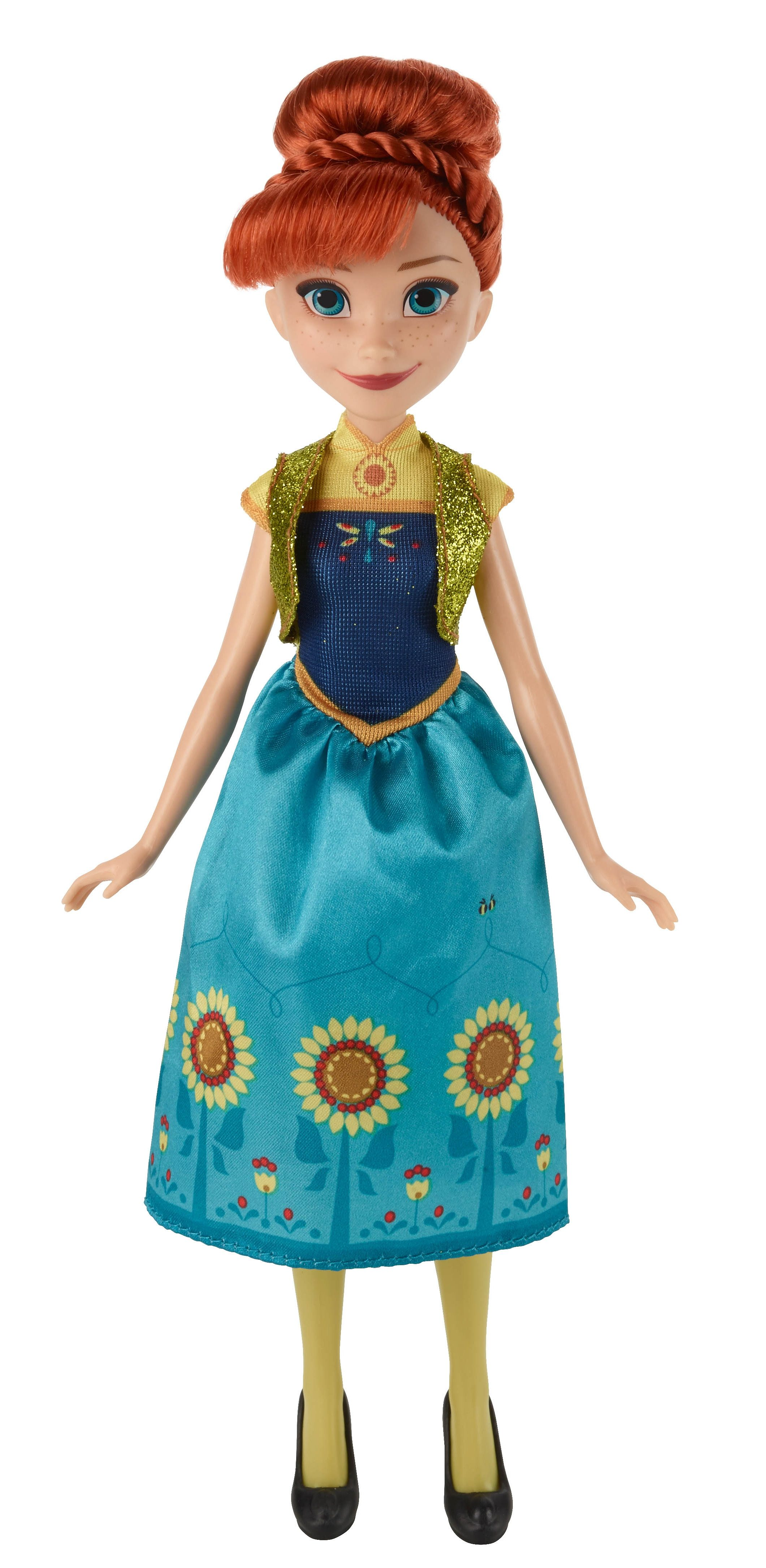 Hasbro Puppe 27 cm, »Disney Eiskönigin: Party-Fieber - Anna«