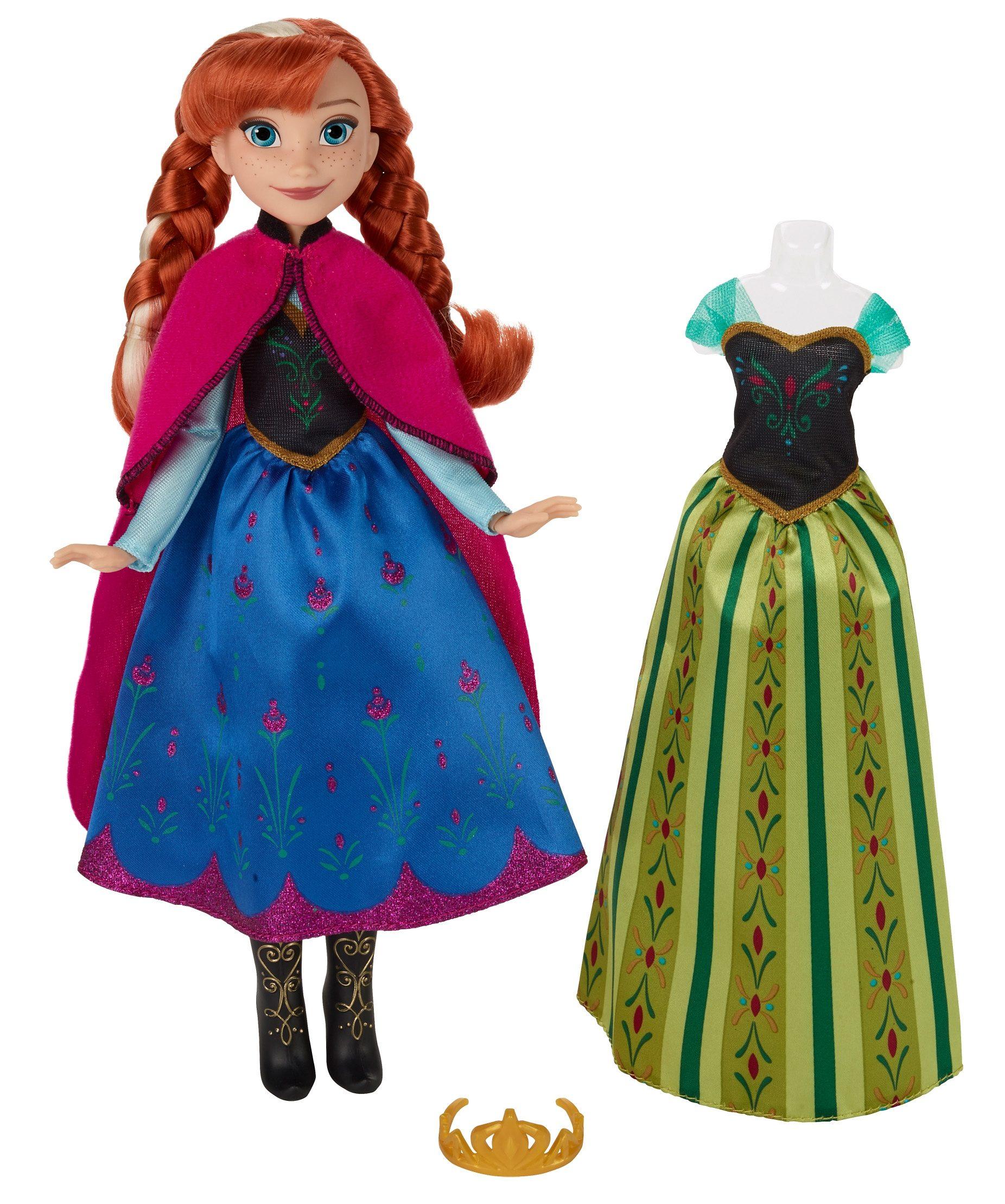 Hasbro Puppe mit Wechseloutfit, »Disney Die Eiskönigin - Anna«