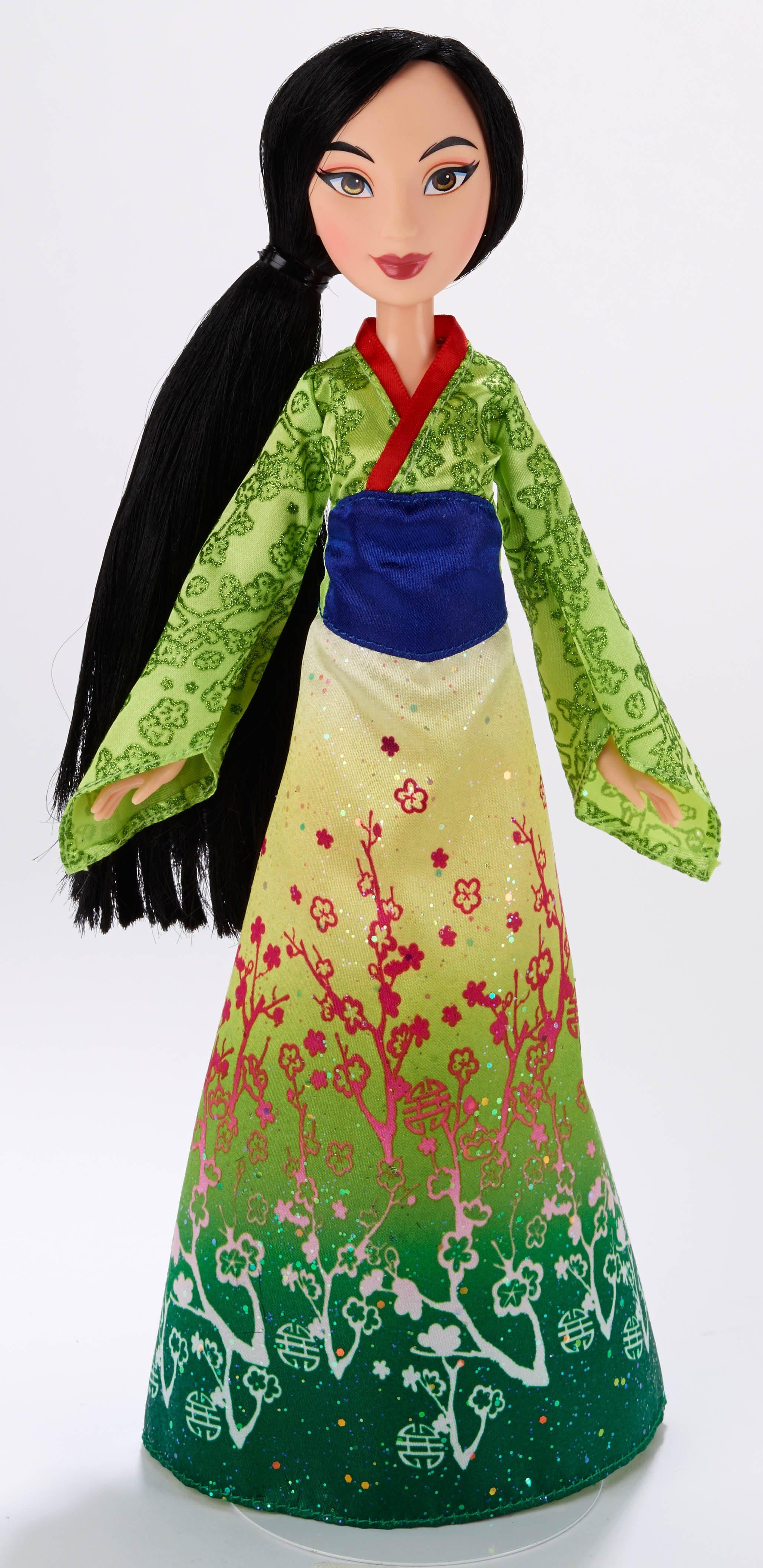 Hasbro Puppe 27 cm, »Disney Princess - Schimmerglanz Mulan«