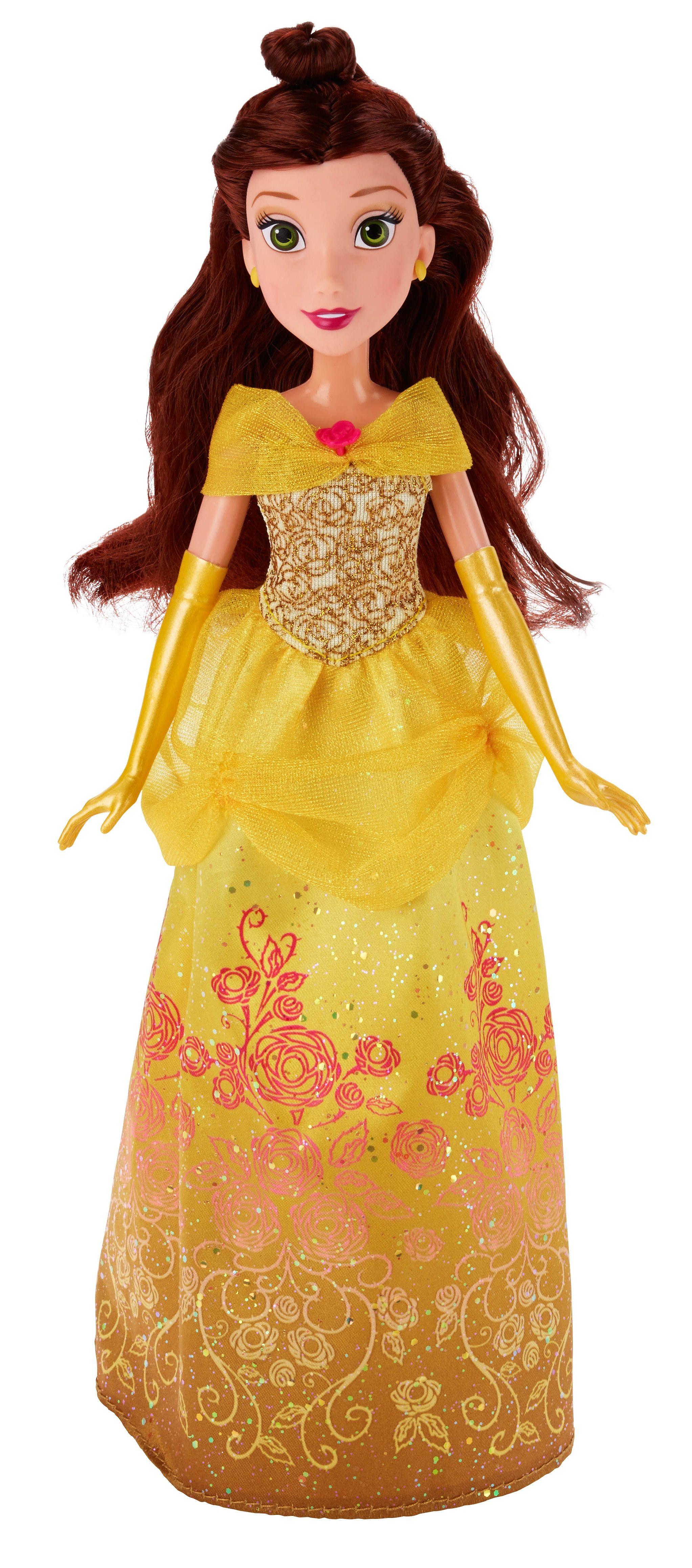 Hasbro Puppe 27 cm, »Disney Princess - Schimmerglanz Belle«