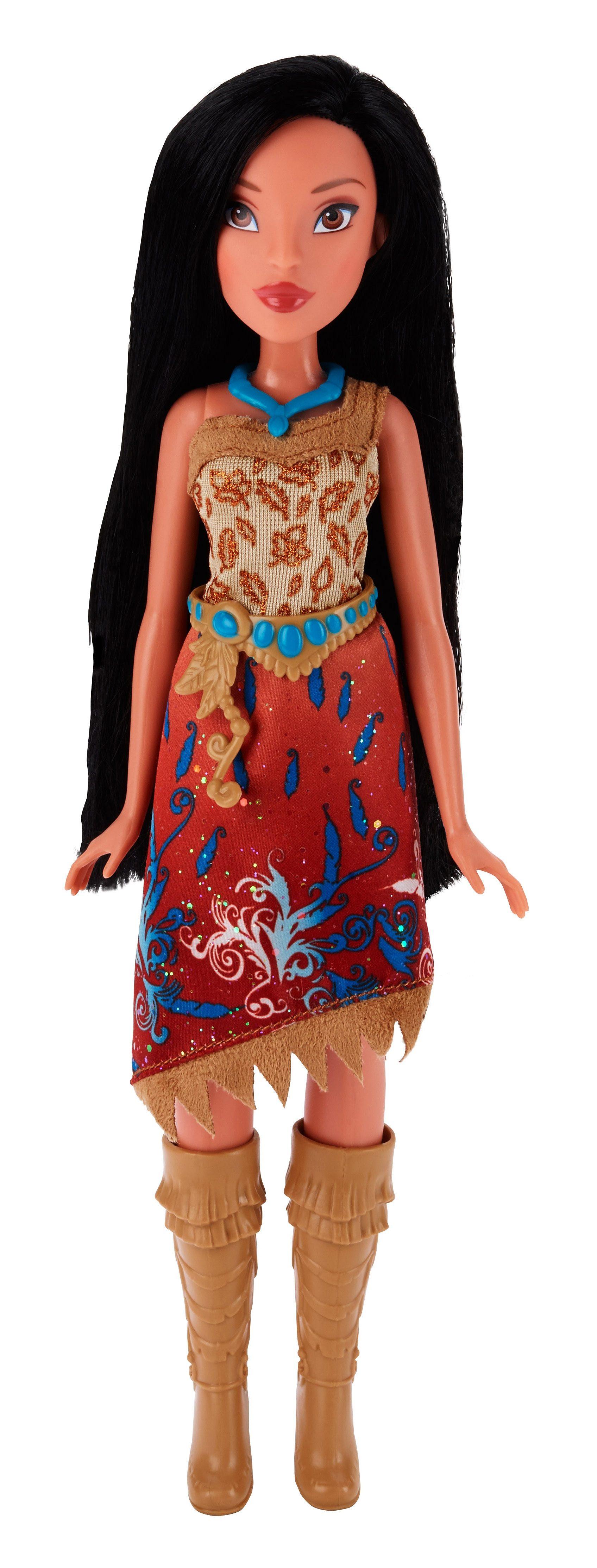 Hasbro Puppe 27 cm, »Disney Princess Schimmerglanz Pocahontas«